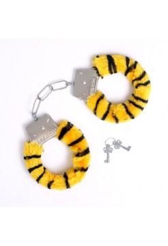 Наручники тигровые