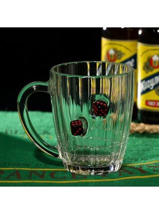 Пивной бокал с Игральными Костями