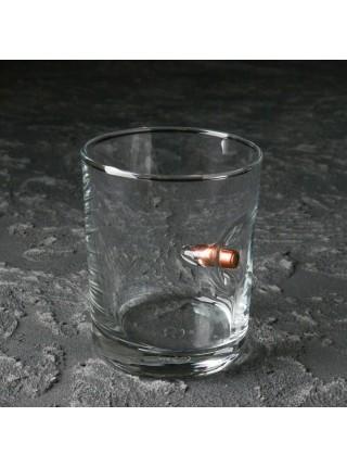 Стакан Whiskey Bullet с пулей