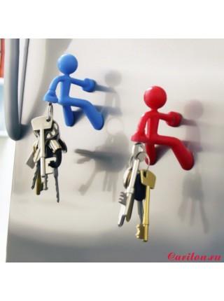 """Держатель для ключей """"Магнитный человечек"""""""