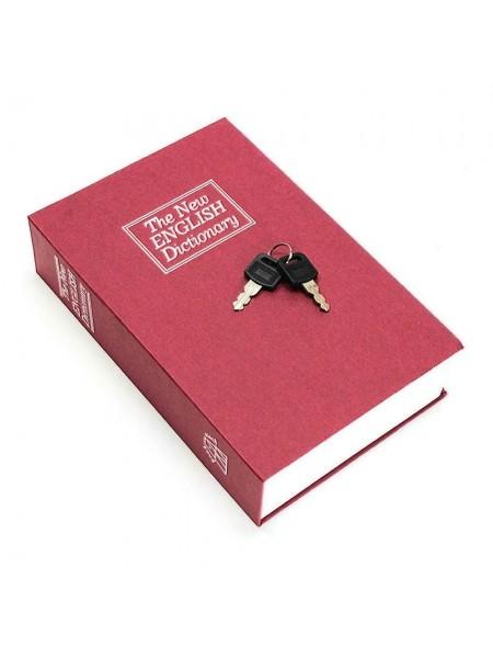 Книга сейф Английский словарь красный