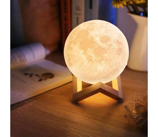 Cенсорный светильник Луна на аккумуляторе XL 15 СМ