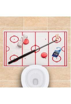 Хоккей для туалета