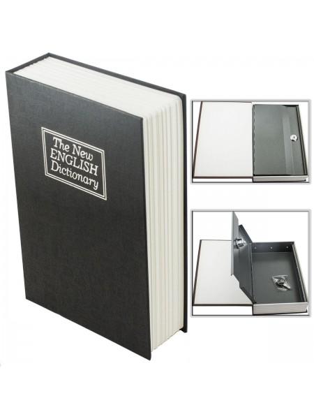 Книга сейф Английский словарь черный