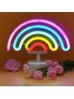 Неоновый светильник Радуга USB