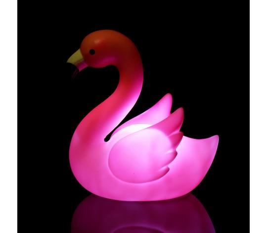 Ночник Розовый фламинго