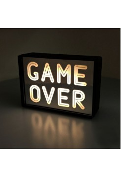 Светильник Game Over