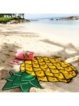 Покрывало пляжное Ананас