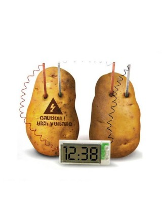 Часы работающие от овощей