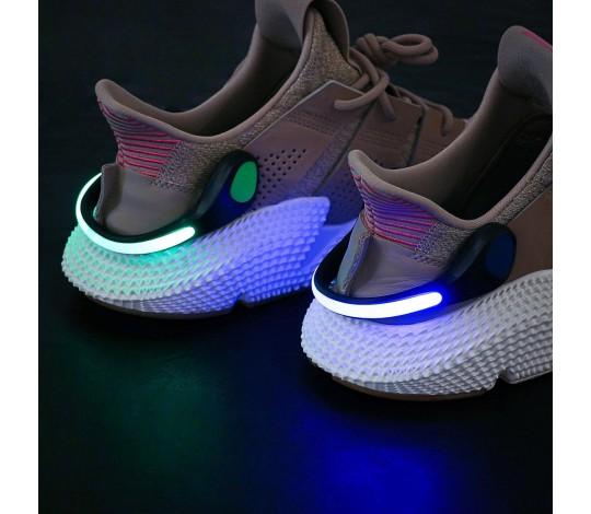 Светящаяся LED клипса для обуви