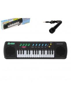 Детский электронный синтезатор с микрофоном