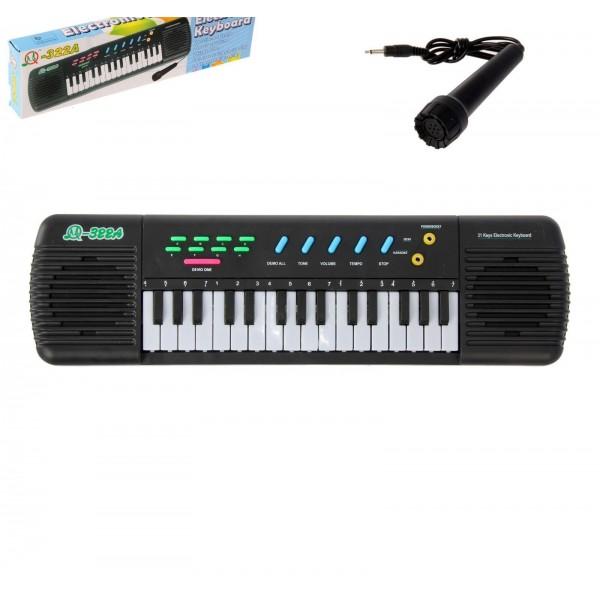 Детский электронный синтезатор с микрофоном от 780 руб