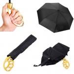 Зонт Кастет золотой