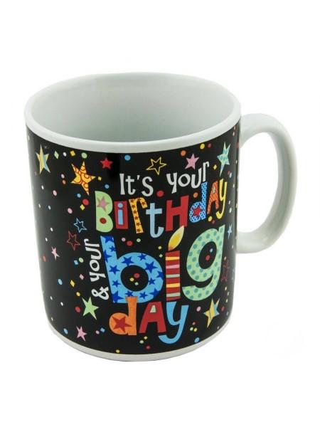 Гигантская кружка Happy Birthday