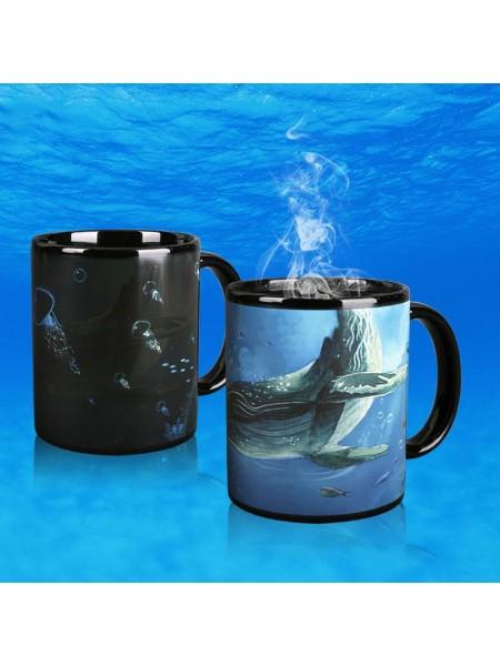 Кружка-хамелеон Подводный мир
