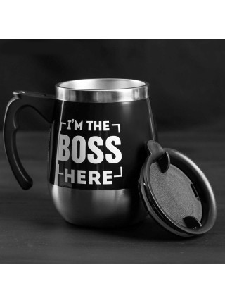 Термокружка Im The Boss