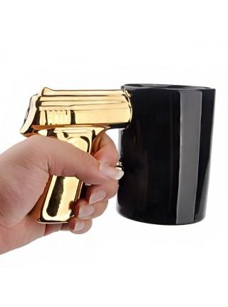 """Кружка """"Пистолет"""" черная"""
