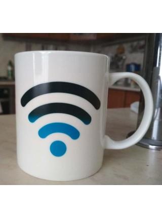 Кружка хамелеон Wi-Fi Hot Spot