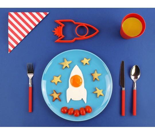 """Форма для яичницы """"Ракета Space Egg"""""""