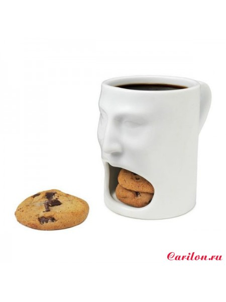 """Голодная кружка """"Face Mug"""""""