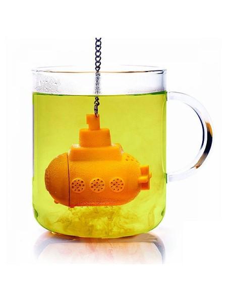"""Заварник для чая """"Подводная лодка"""", желтый"""