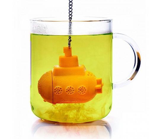 Заварник для чая Подводная лодка, желтый