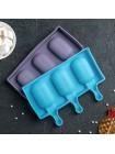 Форма для мороженого Эскимо Волны