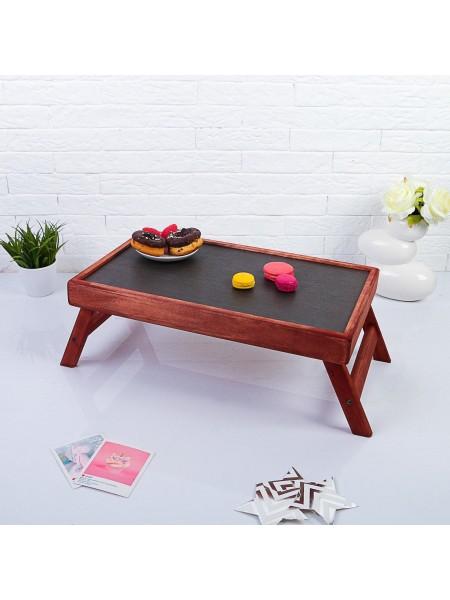 Столик для завтрака в постель Махагон