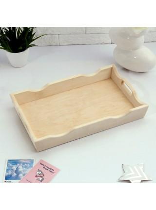 Поднос для завтрака деревянный