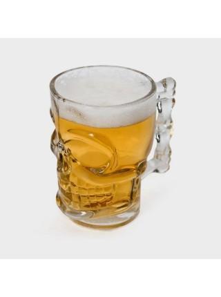 Кружка пивная «Череп», 0,5 л