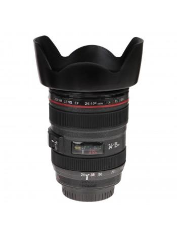 Кружка-термос «Объектив Canon» 400 мл, пластик