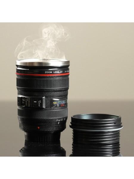 Термокружка «Объектив», 300мл - отличный подарок для фотографов