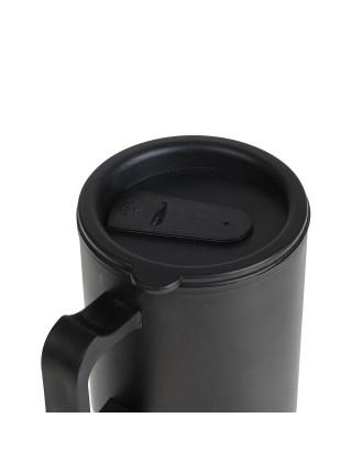 Термокружка «VILBON» чёрная матовая