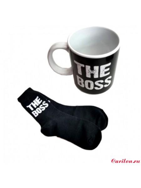 Подарочный набор «The Boss» (кружка + носки)