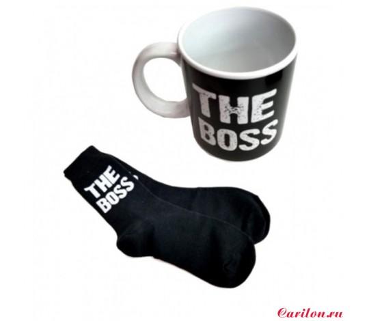 Подарочный набор «The Boss» (кружка и носки)
