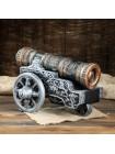 Штоф Царь-пушка с рюмками