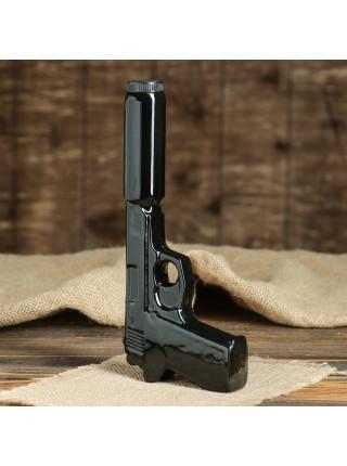 Штоф Пистолет с глушителем с рюмками
