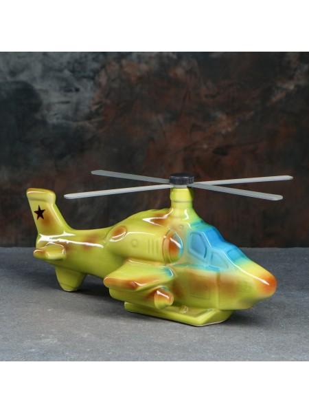 Штоф Вертолет с рюмками